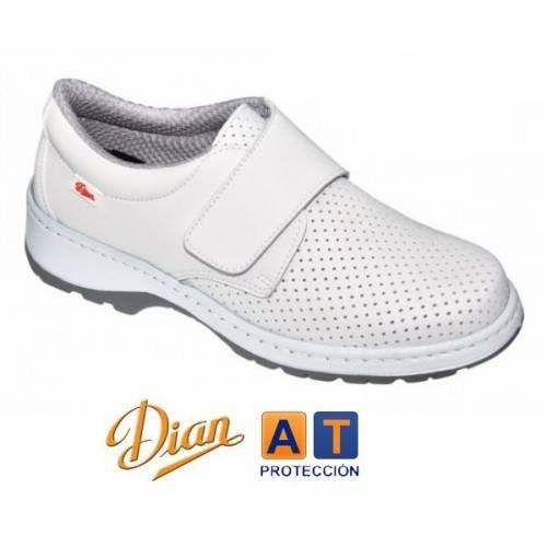 Zapatos Dian Milan SCL picados blancos