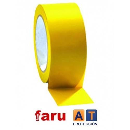 Rollo cinta adhesiva para suelos 50 mm.