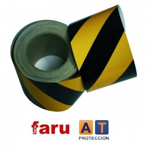 Rollo ciinta retrorreflectante 3M amarillo/negro