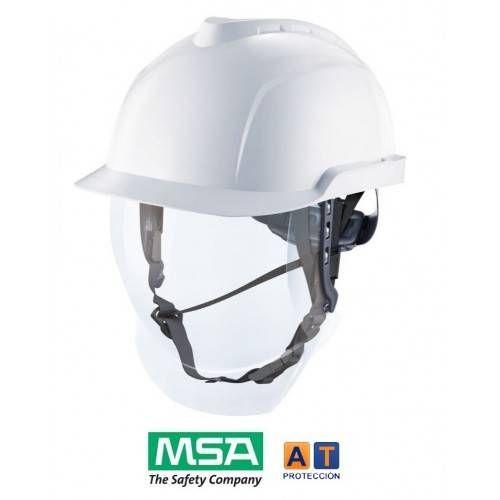 Casco dieléctrico con visor MSA V-Gard 950