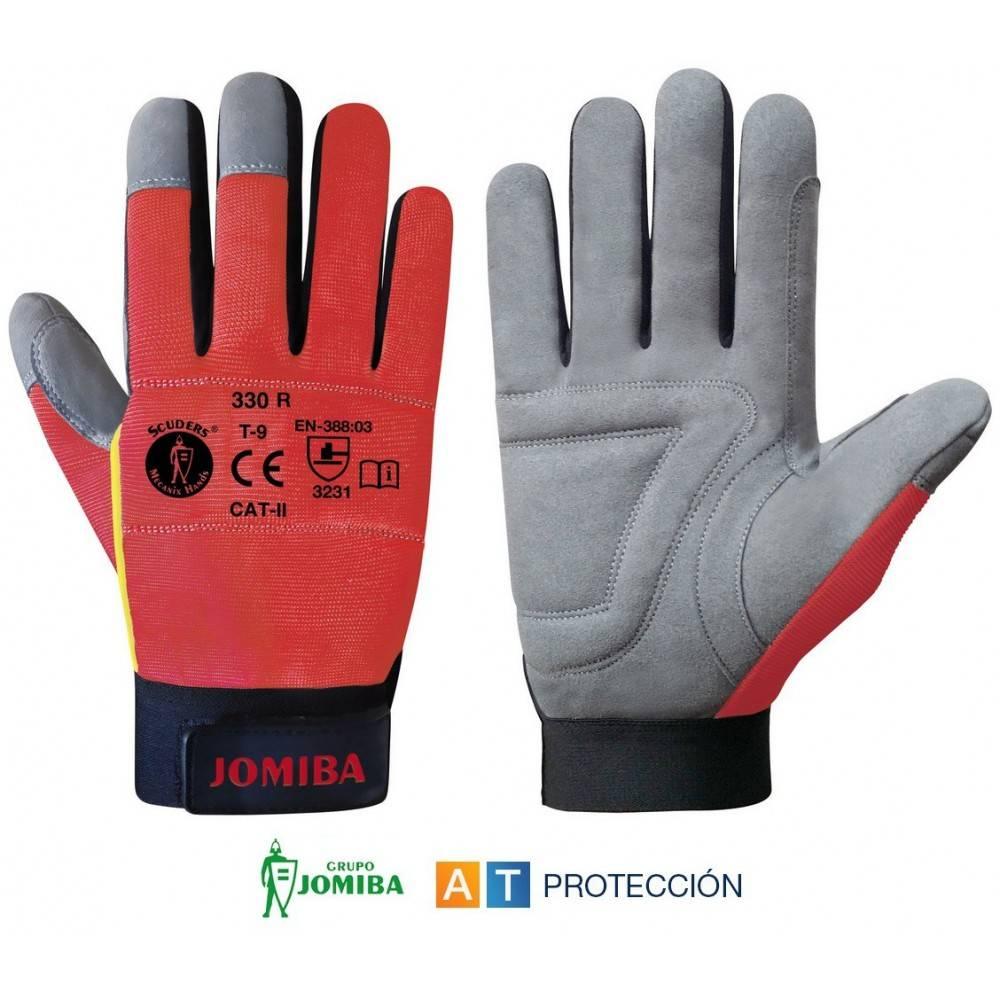 guantes conductor mecanico