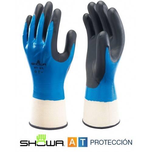 Guantes Showa 377 nitrilo foam