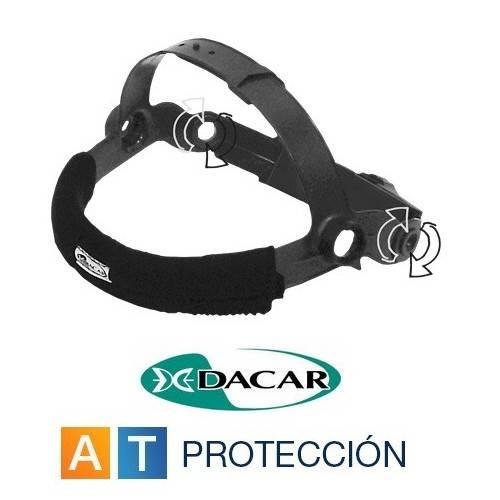 Atalaje de cabeza pantalla soldar Dacar DC1