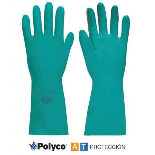 Guantes nitrilo sin flocar Polyco Nitri-Tech III