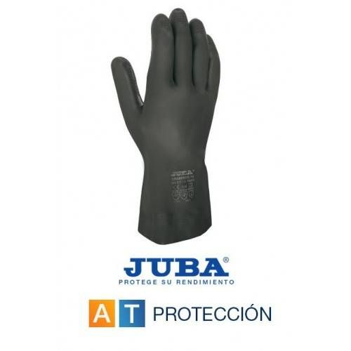 GUANTES LATEX-NEOPRENO NEGROS