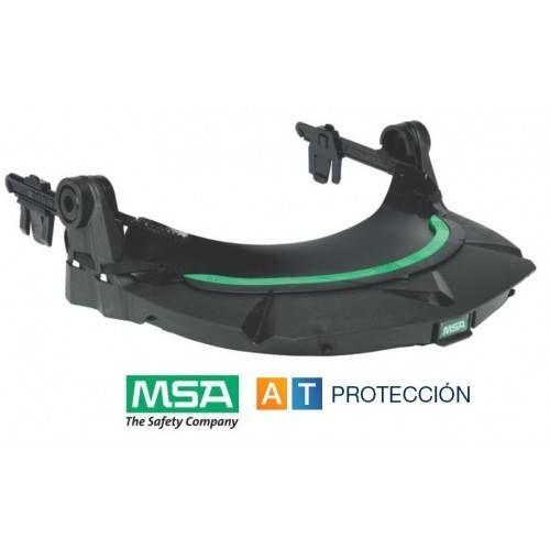 Montura MSA V-Gard para cascos con ranura y control de suciedad