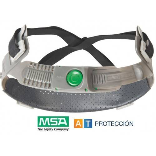 Atalaje casco MSA V-Gard Push Key