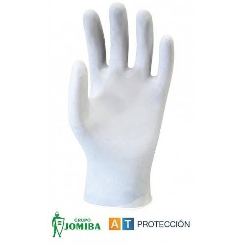 Caja 100 guantes desechables Látex empolvados ECO