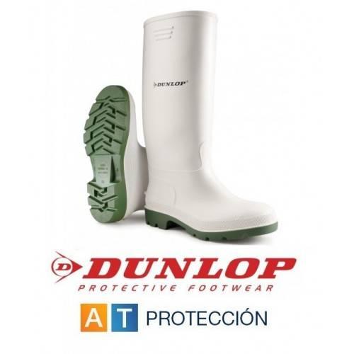 Botas de agua blancas Dunlop Pricemastor