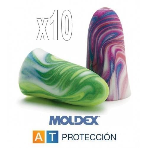 Pack 10 pares MOLDEX Spark Plugs