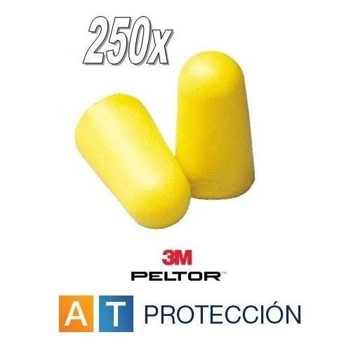 Tapones 3M EAR SOFT - Caja 250 pares