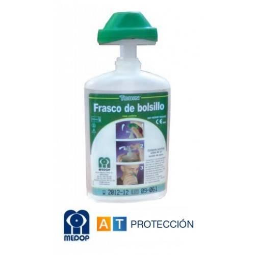 Botella lavaojos 200 ml. de bolsillo Medop
