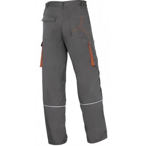 Pantalón tergal DeltaPlus MACH 2 Gris-Naranja
