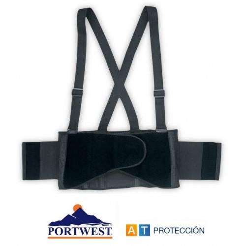 Faja lumbar con tirantes Portwest PW80