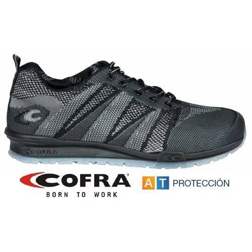 Zapatos Cofra FLUENT BLACK S1P