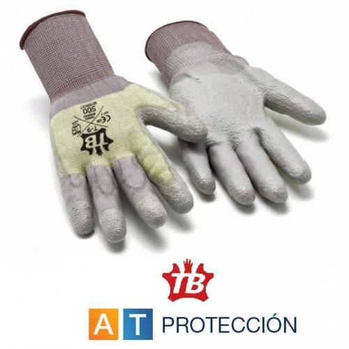 Guantes anticorte Kevlar-Poliuretano 500 NEVERCUT
