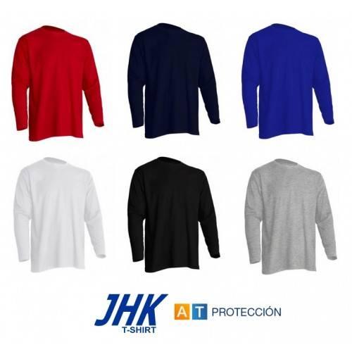 Camiseta manga larga JHK varios colores