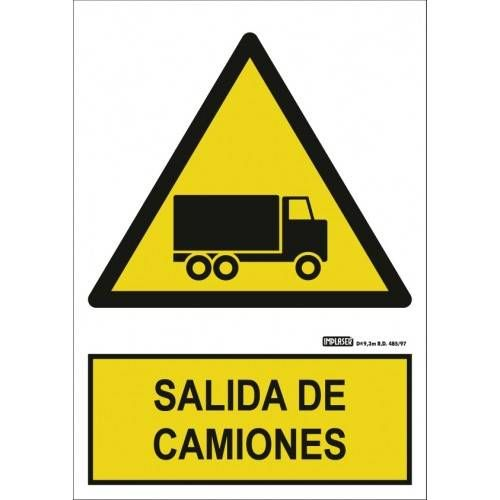 SALIDA DE CAMIONES A4 Y A3