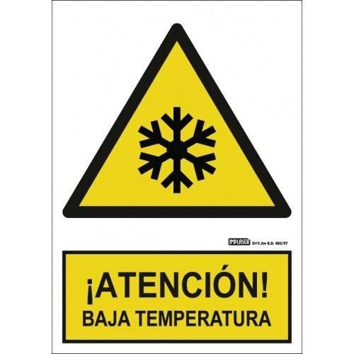 ¡ATENCIÓN! BAJA TEMPERATURA A4 Y A3