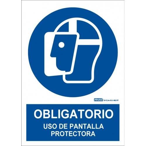 ES OBLIGATORIO EL USO DE LA PANTALLA PROTECTORA A4 Y A3