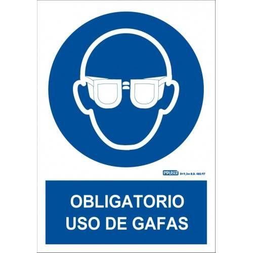 ES OBLIGATORIO EL USO DE GAFAS A4 Y A3