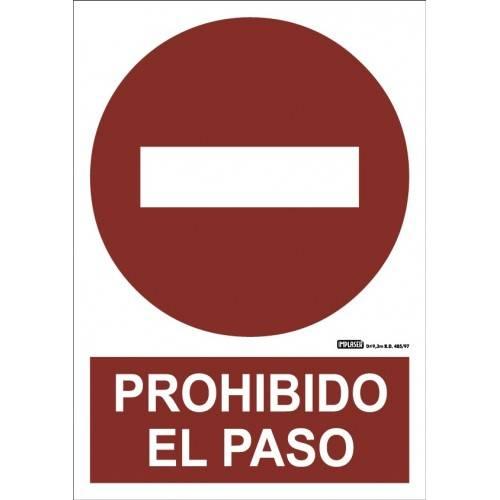 PROHIBIDO EL PASO A4 Y A3