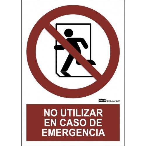NO UTILIZAR EN CASO DE EMERGÉNCIA A4 Y A3