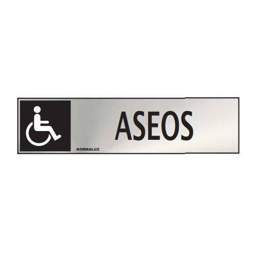 Señal informativa ASEOS Minusvalidos