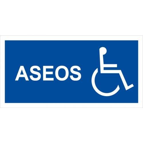 ASEOS ( imagen minusválidos 15 x 30 cm)