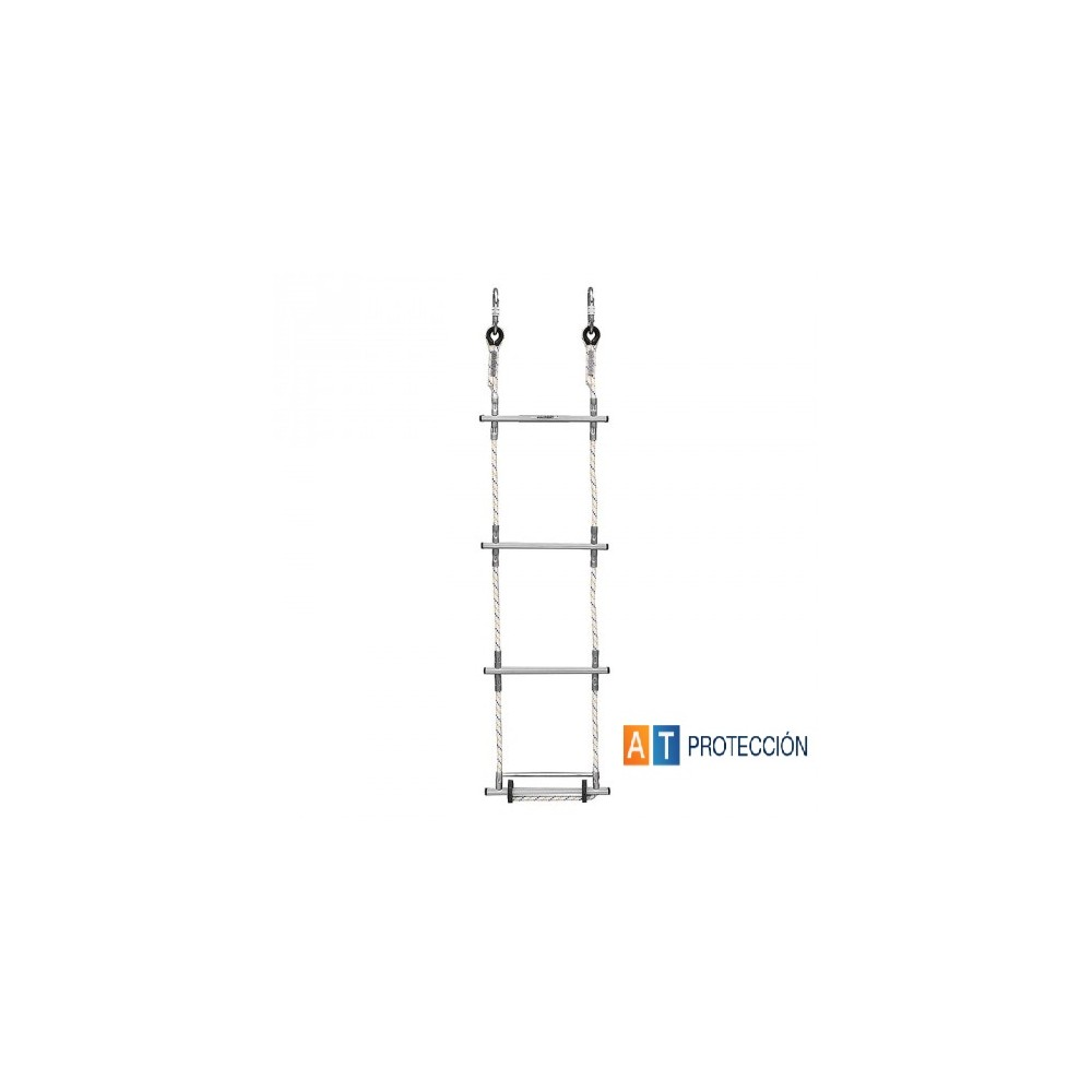 Escalera de cuerda for Escaleras 5 metros