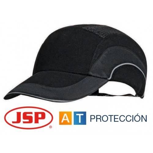 Gorra de seguridad antigolpes JSP ABR NEGRA