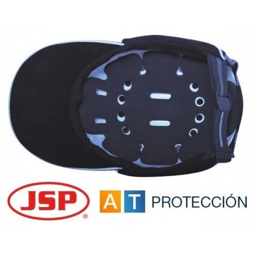 Gorra de seguridad antigolpes JSP ABR Micro AZUL MARINO