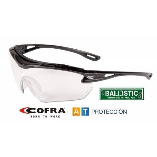Gafas COFRA BALLISTIC GUNNER transparentes