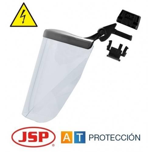 Pantalla facial JSP Surefit dieléctrica para casco EVO