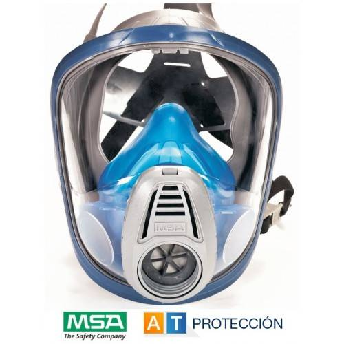 Máscara facial MSA Advantage 3000 rosca