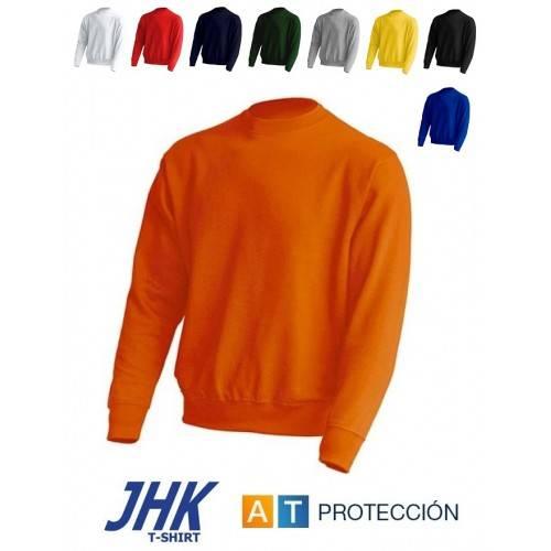 Sudadera cuello redondo JHK