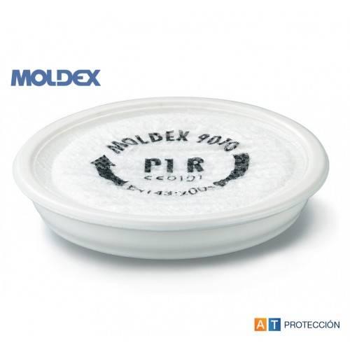 2 filtros P1 MOLDEX 9010 partículas