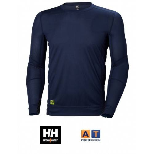 CAMISETA MANGA LARGA TRANSPIRABLE HELLY HANSEN CREWNECK