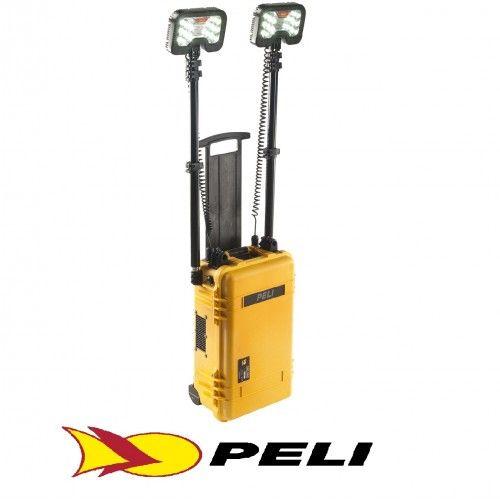 Sistema de alumbrado de area remoto Peli Lighting