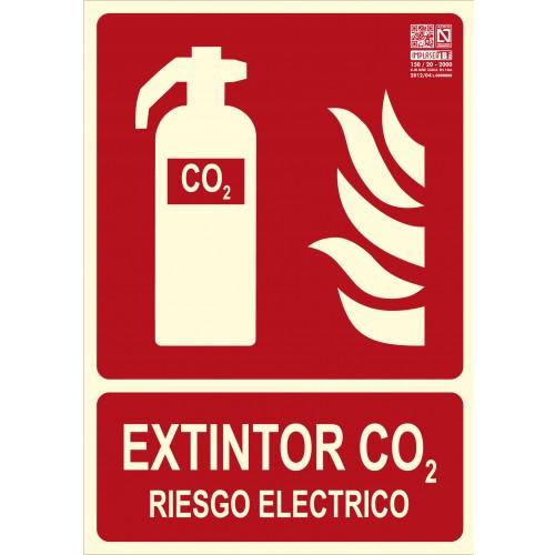EXTINTOR CO2 RIESGO ELÉCTRICO A4