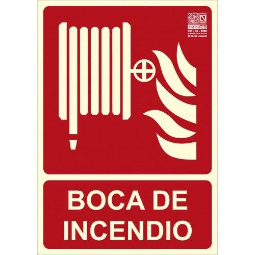 SEÑAL BOCA DE INCENDIO A4 Y A3