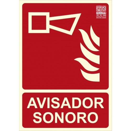 SEÑAL AVISADOR SONORO A4