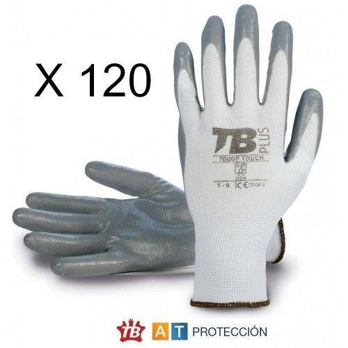 Pack 120 pares guantes nitrilo 700GPTOUCH