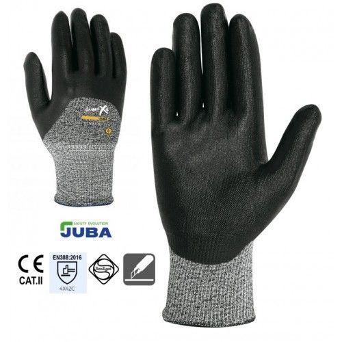 Par guantes anticorte nitrilo JUBA NX 410 NINJA 4X