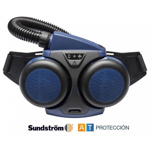 Ventilador Sundstrom con filtros de partículas o combinados