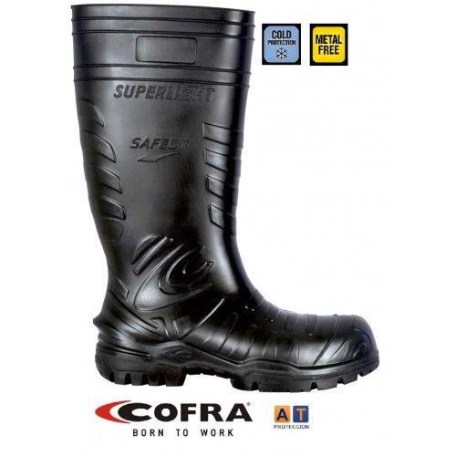 Botas de agua Cofra Safest Black S5 Metal Free