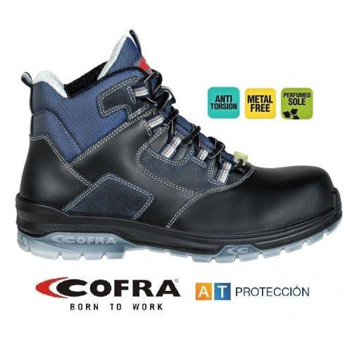 Zapatos Cofra Funk Black S3 ESD SRC