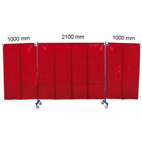 Biombo protección con brazos/lamas TRANSFLEX 2100