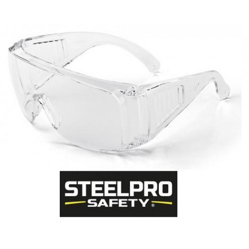 Gafas SteelPro Safety VISITOR Transparentes