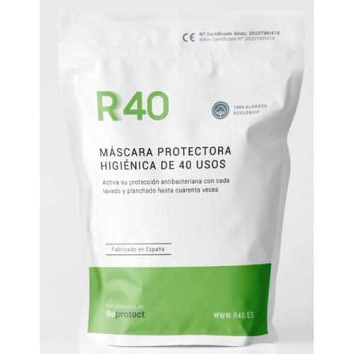 Mascarilla Higiénica protectora - Reutilizable